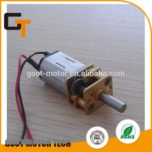 Hot selling dc gear motor 12v working with low price