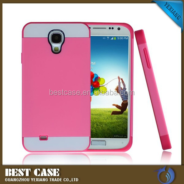 Mobile phone accessories pc tpu case for samsung galaxy s4 i9500 protective cover