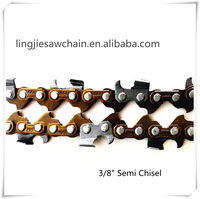 professional supplier of gas chainsaw chains 3/8 saw chain