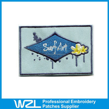 High quality Embroidered Patches self adhesive fabric patch