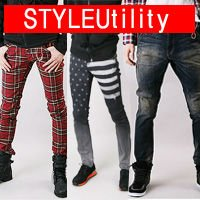 Latest Korea Designers trendy mans jeans 100 kinds