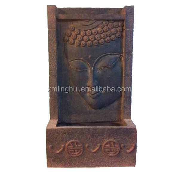 Buddha Resin Wall Mounted Water Features