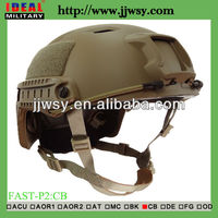 Airsoft FAST Base Jump BJ Helmet M/L CB Military Tactical side Rails