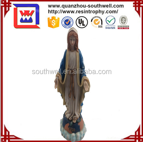 The virgin mary statues decoration for sale