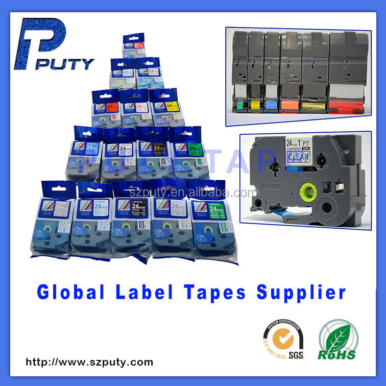 Compatible TZ TZe 651 cheap Label Tape For P-touch Labeler TZe-651