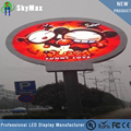P8 outdoor full color led panel round round led panel shenzhen led panel