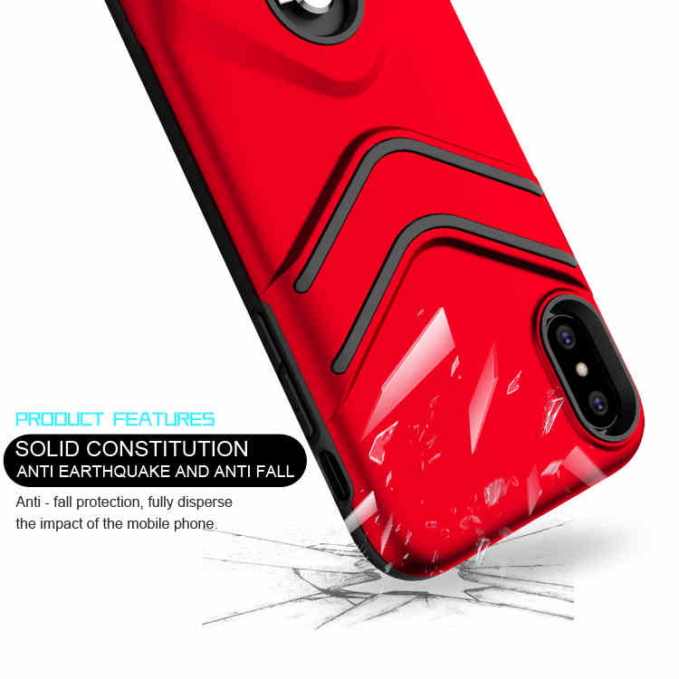 Latest design tpu pc rugged shock proof mobile phone cover for iphone x