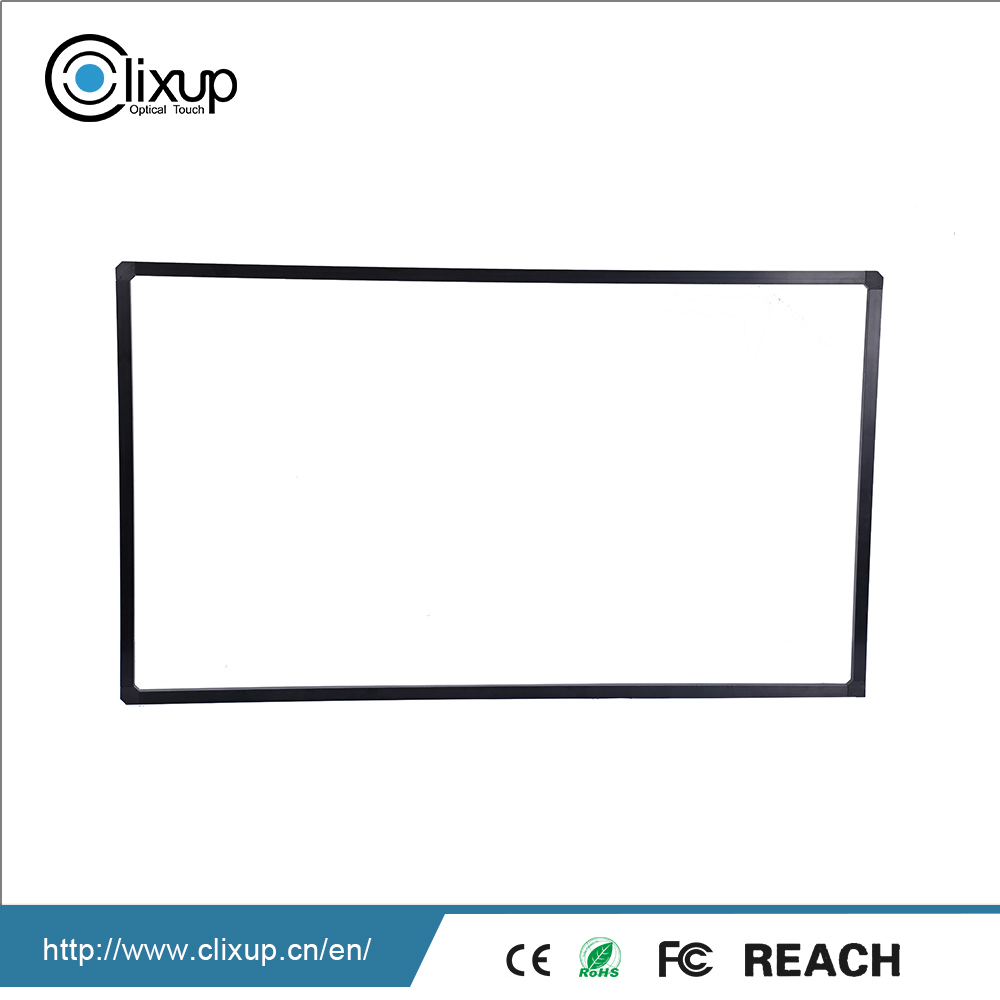 Cost-effective Optical imaging multi touch aluminum panel overlay kit screen frame