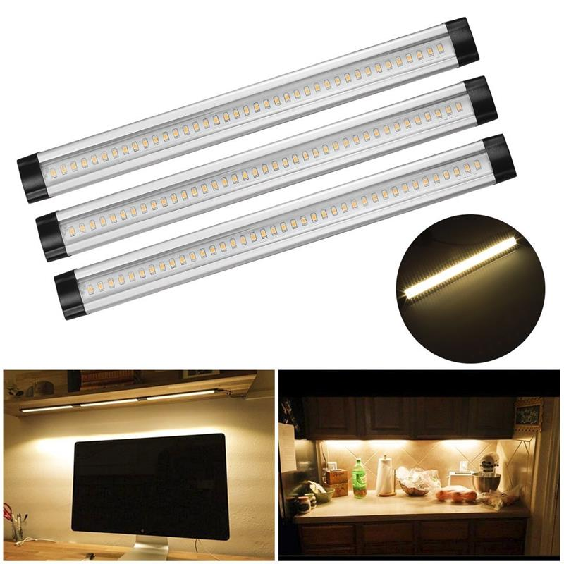Rigid Strip Light Bar 3 Pack Good Quality Under Cabinet Led Light For Wardrobes With Sliding Doors