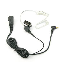 [EV1702-SP]air tube Earphone shenzhen Headset for Motorola SP Series SP10 SP21 SP50+ SP50