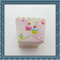 New designs for square muffin cup cupcake case