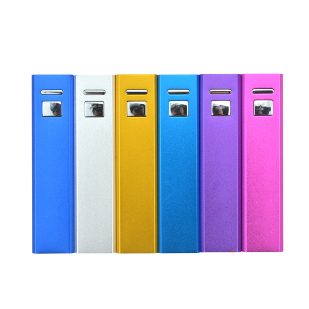 Factory Price 2600mAh Power Bank External Power Tube For Digital Products E3