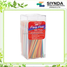 Creative Converting Party Picks, 300 Assorted Colored Toothpicks