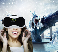 Virtual reality vr box 3.0 3d glasses headset for blue film video xnxx movie open sex with remote