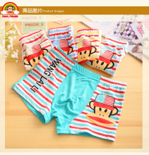 2016 Hot Sale cartoon Kids Underwear, boy's boxer underwear printed monkey