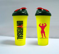 2014 latest design protein shaker bottles/Wholesale shake bottle with ball