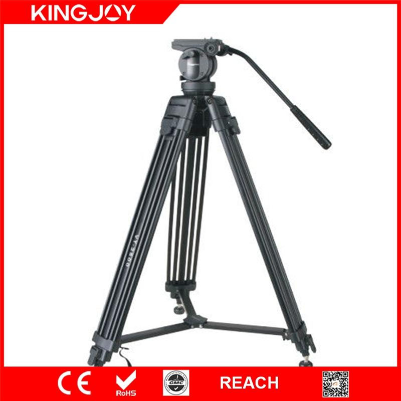 Kingjoy Popular High Quality Panoramic DSLR Video Camera Tripod Stand with Heavy Duty