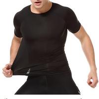 Custom Stretch Fitness Fashion Gym Sportswear Shirt Design Men Sportswear