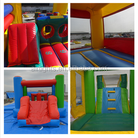 high quality inflatable jumping castle, durable PVC inflatable moon bouncer