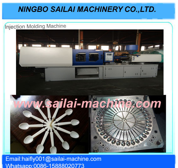 Plastic Injection Disposable Fork/Spoon/Knife Moulding machine