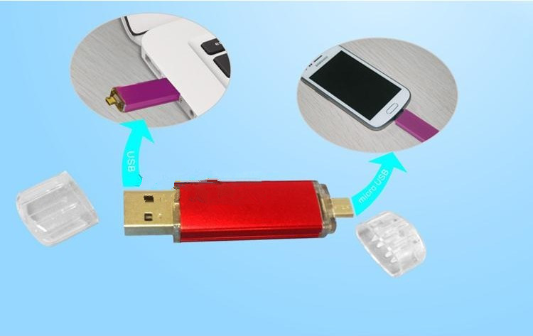 New Products Plastic OTG USB Drivers USB Flashdrive for Android Phone