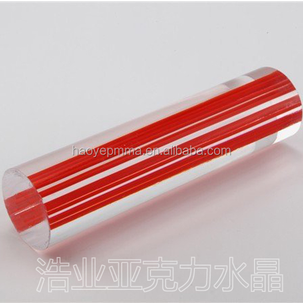 modern furniture customized quality transparent polycarbonate plastic rods clear plastic pc rod