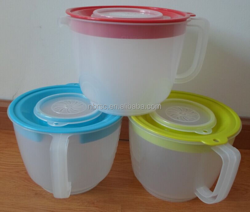 Plastic Measuring Pitcher,Mix & Pour Measuring Pitcher with Lid,BPA free Plastic Pitcher