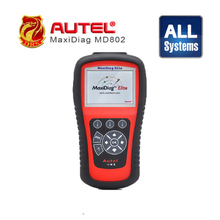 Original Autel Maxidiag Elite MD802 scanner for 4 systems Engine/ Trasmission/ ABS/ Airbags