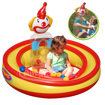 aiR MaGic Inflatable Play Pool- 8101 Clowning Around Play Pool