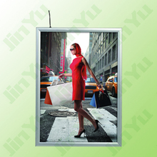 Snap Aluminium Illuminated Frame Light Box Display