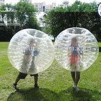 Hot Sale PVC/TPU human funny inflatable Bubble Soccer Ball / Bubble Loopy Ball for sales!