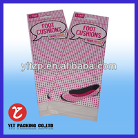 Customized plastic printed package polypropylene bopp header resealable opp pen bag