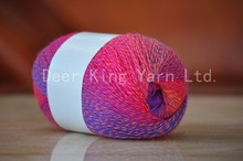 wholesale cheap SPRAY DYED acrylic yarn acrylic knitting yarn fancy yarn
