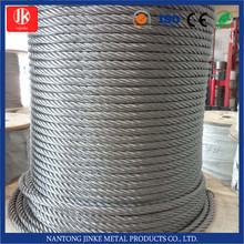7*7 7*19 galvanized steel wire rope,galvanized aircraft cable