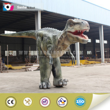 Popular silicon rubber realistic dinosaur costume