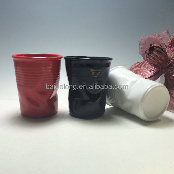 Unique Wrinkle Ceramic Mugs