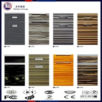 high gloss UV MDF board with wood grain designs
