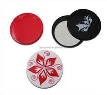 small round hand mirror/hand held mirrors wholesale pocket compact mirror