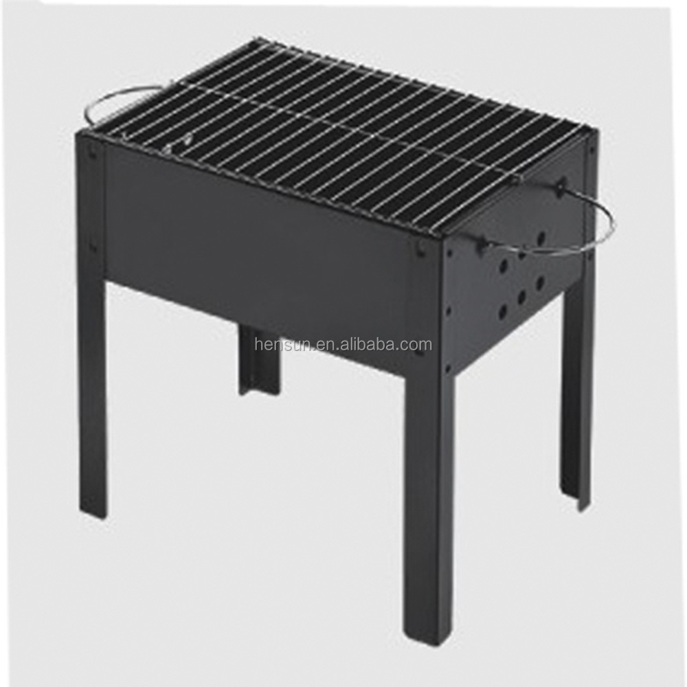 Mini portable BBQ charcoal grill colorful grill for picnic