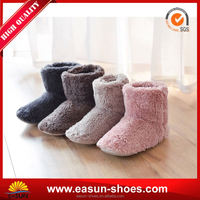 Winter leather short fancy slipper classical warm boots
