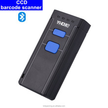 1D Bluetooth Wireless Mini Barcode Scanner with Memory for Inventory Warehouse