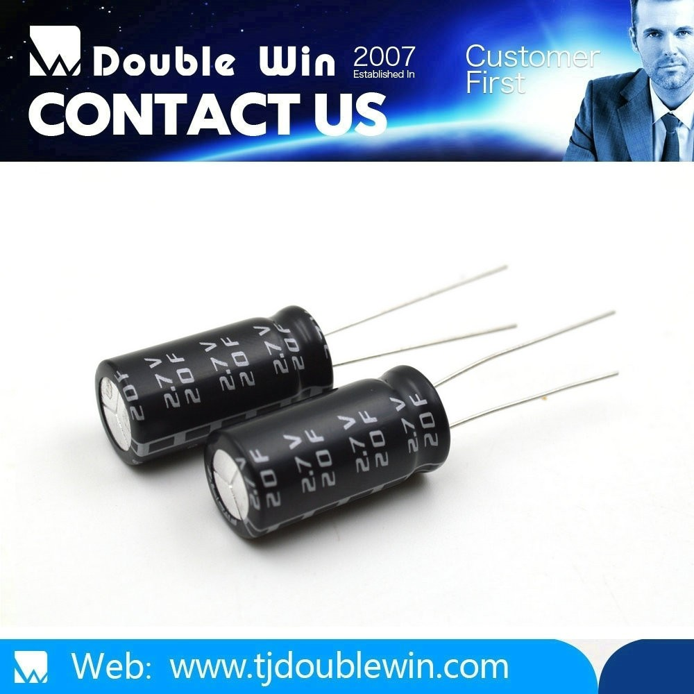 2.5V / 2.7V Super aluminum electronical Capacitor Manufacturer