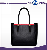 2016 hot sale designer high quality handbag leather lady fashion tote bags wholesale on alibaba