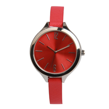 2017 stainless steel back water resistant watches women