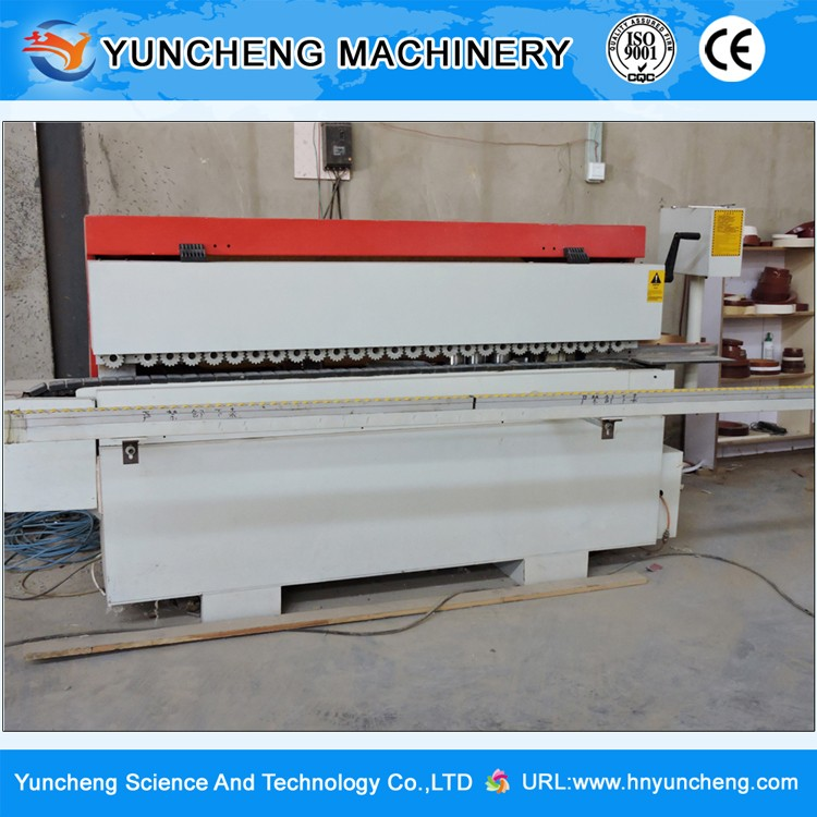 Automatic professional wood pvc board edge banding machine for sale with high quality