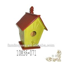 Wooden craft house for bird