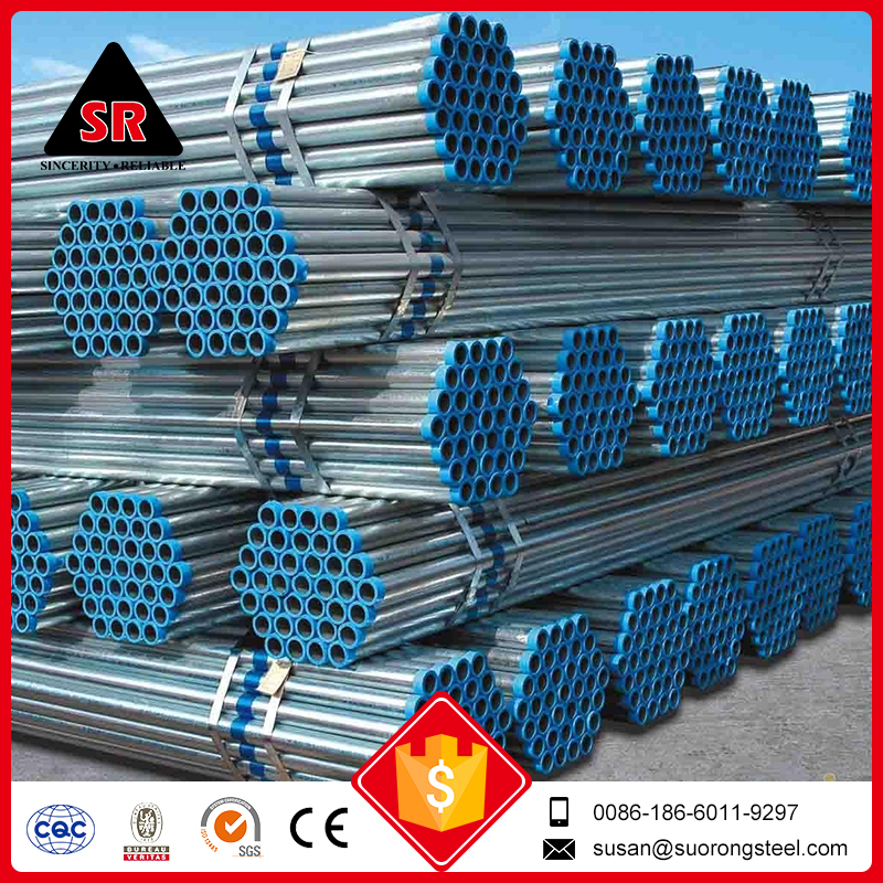 large diameter galvanized welded steel pipe price