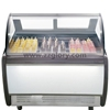 Different ice cream capacity display freezers for sale