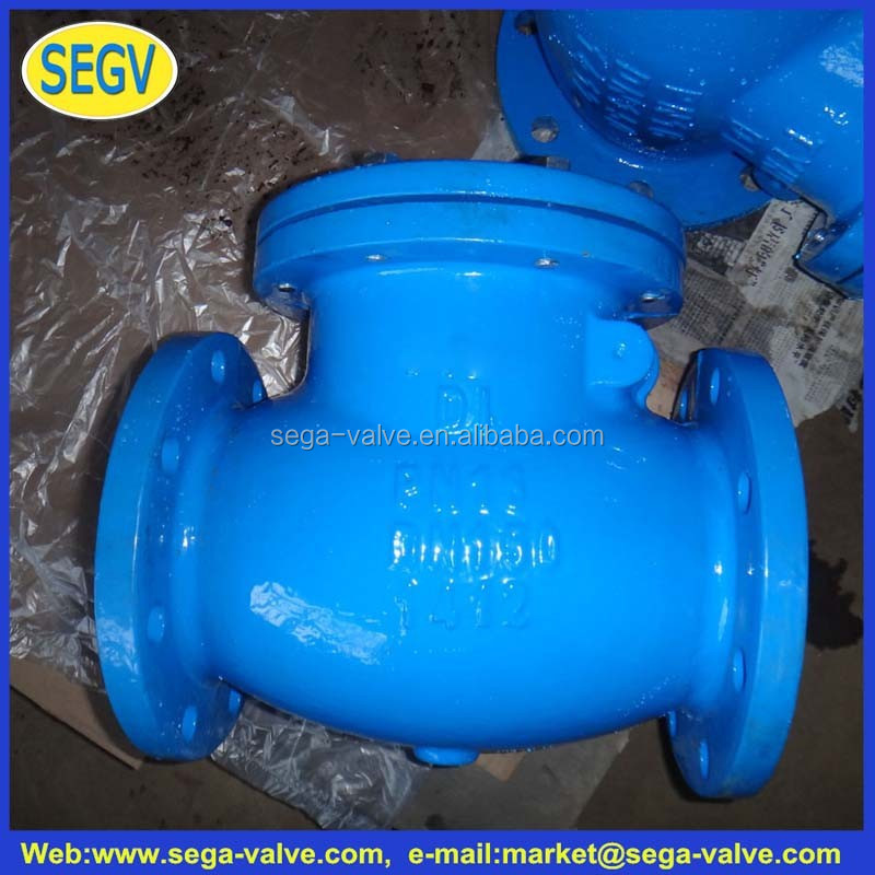 types plumbing materials Cast iron swing check valve