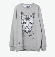 Hot Sale Cat Printing Sweatshirt ,Hoodies Sweatshirt
